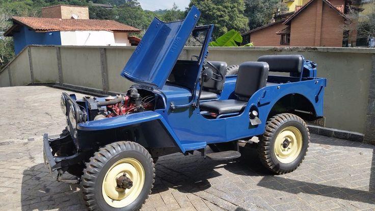Jeep Willys 1948 Impecavel Placa Preta - Ano 1948 - 80000 km - em Mercado Livre