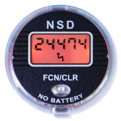 NSD Power SM-02 Precision Multi-function Speedometer with LCD Backlit Screen