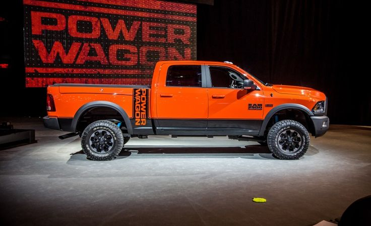 2017 Ram Power Wagon Is an Off-Road Beast - Photo Gallery of Auto Show News from Car and Driver - Car Images - Car and Driver