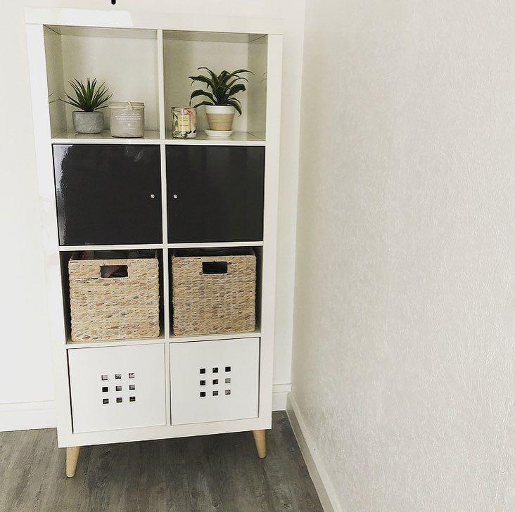 Samhomedeco On Instagram Meuble Ikea France Modele Kallax Avec Un Style Plus Scandinave Diy Pour 19e Les 4 Pieds Et Les Fi Home Decor Shelving Unit Decor
