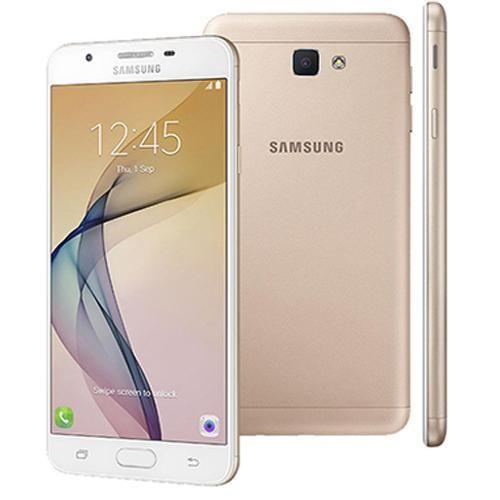 """Foto 1 - Smartphone Samsung Galaxy J7 Prime Dual Chip Android Tela 5.5"""" 32GB 4G Câmera 13MP - Dourado"""