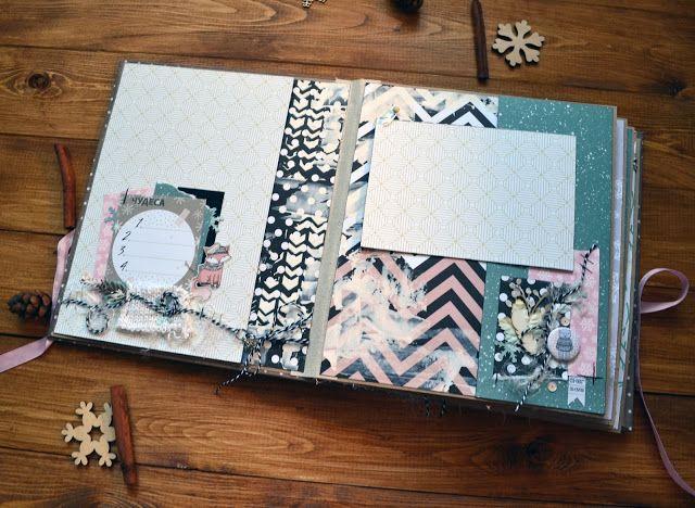 Мой HandMade: WinterBook. Шестой этап. Готовый альбом.