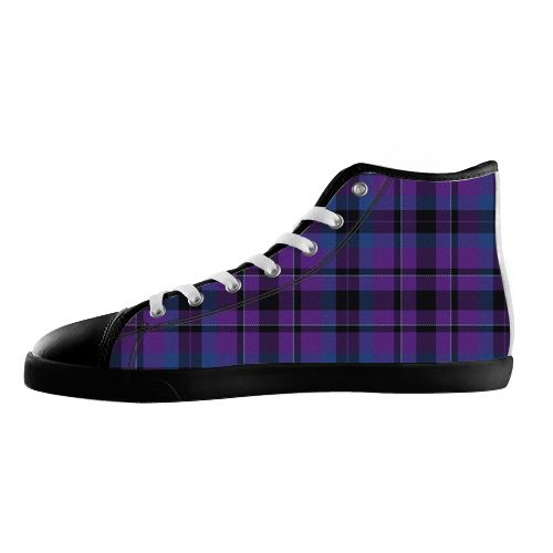 Purple Tartan Shoes - Available Here: http://www.customdropshipping.com/personalized-design/personalized/purple-tartan-47322