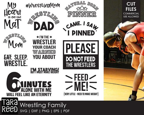Wrestling Svg And Cut Files For Crafters Cricut