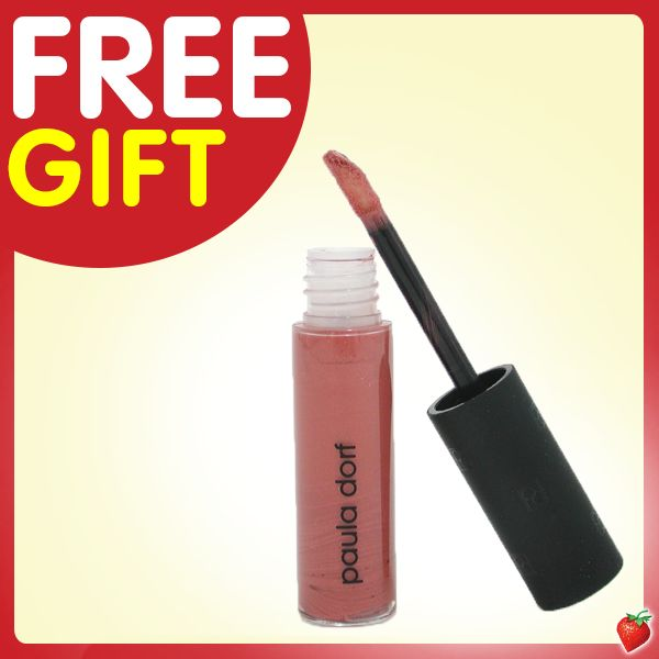 SPECIAL Pinterest offer until 17  Mar 2014! Get a FREE Paula Dorf Lipsicle Lipgloss when you shop any products from our site via our Pinterest landing page here