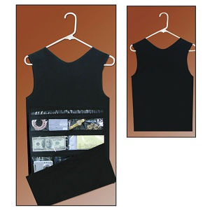 Hanging Closet Safe   Tank Top Front Opens To Reveal Jewelery, Cash U0026 Other  Valuables