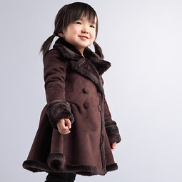 Kids Shearling Coats | Down Coat