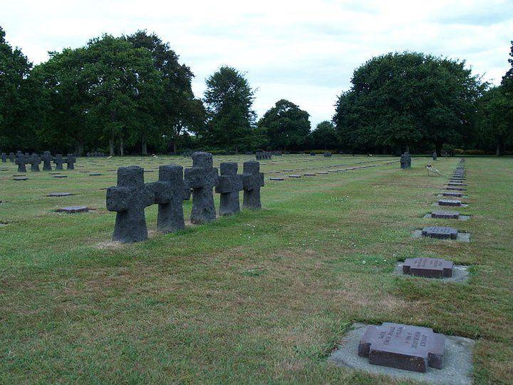 La Cambe, German war cemetery