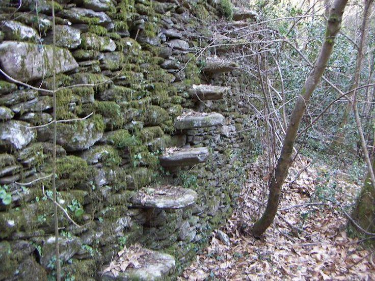Les 25 meilleures id es de la cat gorie mur pierre seche for Construire un escalier en pierre seche