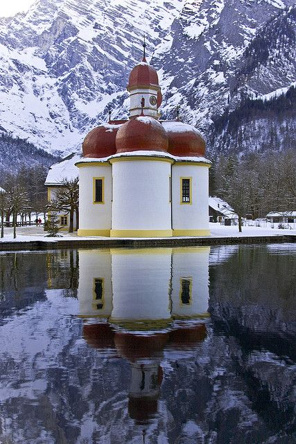 St. Bartholomew, Germany Winter in Bayern -  #deinbayern