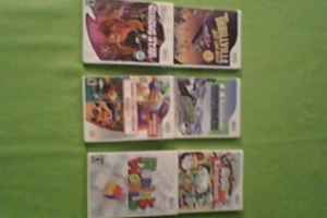 SIX WII GAMES FOR SALE in alloursale's Garage Sale in Dimondale , MI for $60.00. 60.00 for all 6 Wii games, or buy separately for 10.00 each. All in new condition.   -My Sims Kingdom  -Rubik's World  -Thrillville OFF THE RAILS  -go play Circus Star  -Namco Museum Remix  -Kawasaki Snomobiles   Thank you for looking. If interested, email us or call at (517)-646-0963