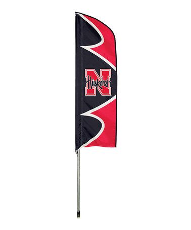 Look what I found on #zulily! Nebraska Cornhuskers Swooper Flag & Pole…