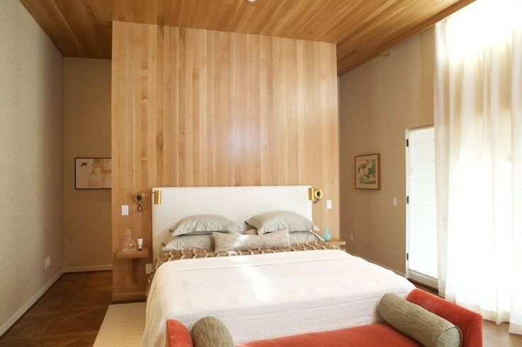 The real first owners of the remodeled Shaw House on the Street of Dreams - small nightstands, wall sconces, bench at end of bed.(photos) | OregonLive.com