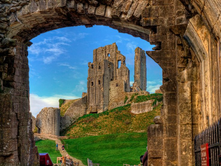 Corfe Castle, Dorset Corfe Castle is a fortification that dates back to the 11th century, designed by William the Conquerer