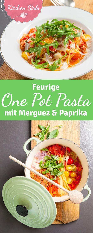 Ein schnelles Pasta-Gericht: Alle Zutaten werden zusammen in einem Topf gegart. Entdeckt unser Rezept für One-Pot-Pasta!