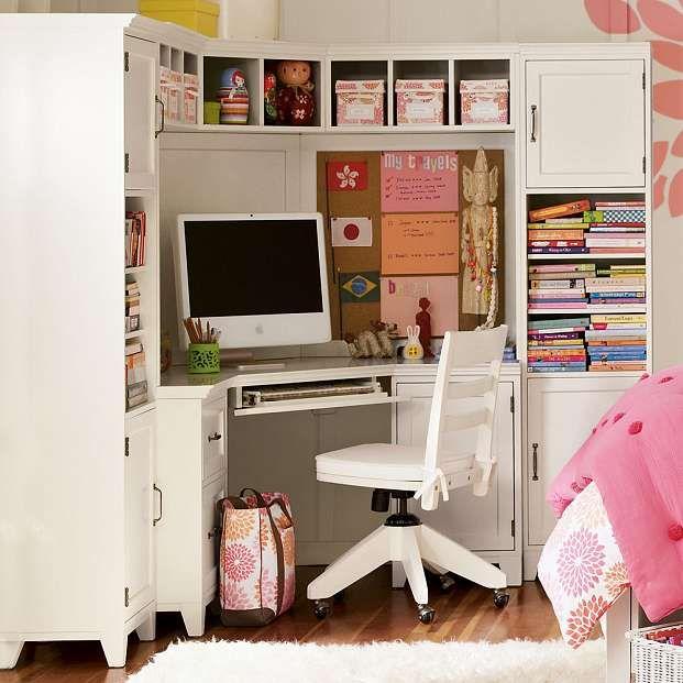 Small White Corner Desk with Hutch - Decor IdeasDecor Ideas