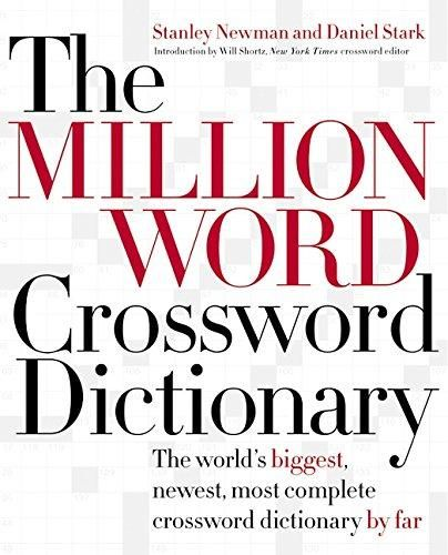 13 best childrens dictionary images on pinterest children s the million word crossword dictionary the worlds biggest newest most complete crossword dictionary fandeluxe Images
