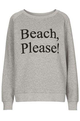 **Beach, Please! Sweat by ASHISH X Topshop - ASHISH X Topshop - Clothing! OUT NOW!