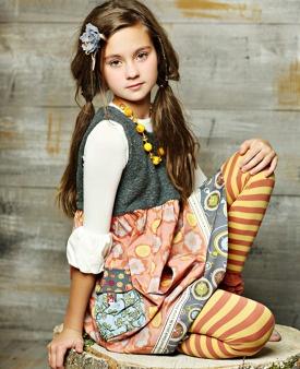 Matilda Jane Vigilante Dress -- Heart, Soul Pride Collection