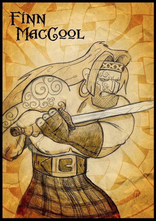 Fionn mac Cumhaill (Finn McCool), Leader of the Fianna