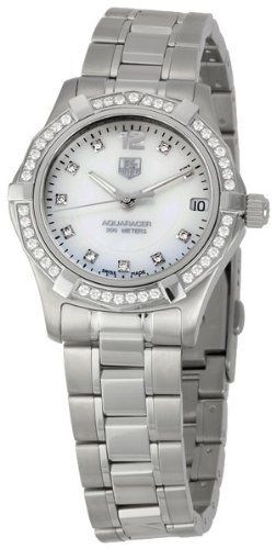 Best TAG Heuer watch prices Women's WAF1313.BA0819 Aquaracer Quartz Watch : Watch | Best Discount Shopping Websites