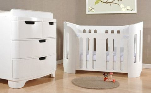cocoon style cot then a junior bed