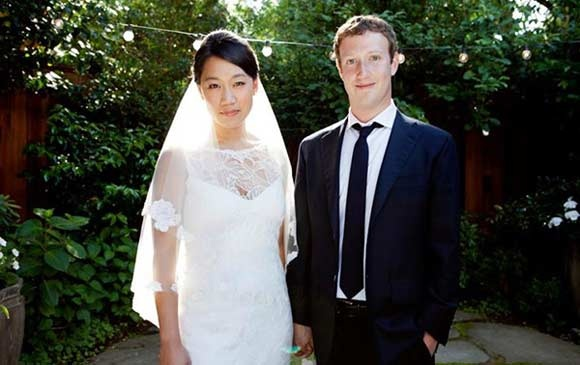 zuckerberg married after Facebook IPO