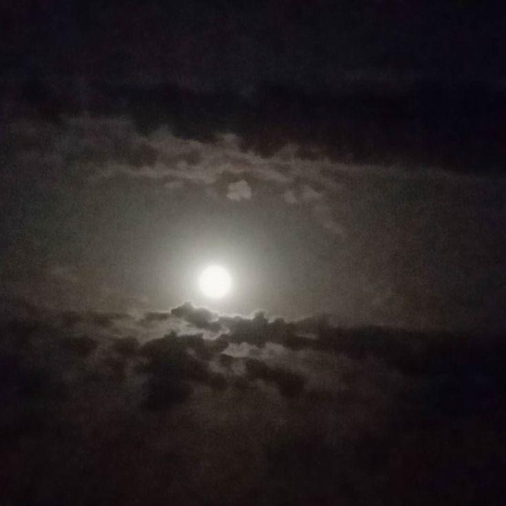 #sardinia #golfodiorosei #calagonone #dorgali #moon #darknigth #goodnigth #findyourdreams