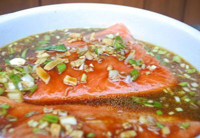 Grilled Salmon Marinade | JuJu Good News