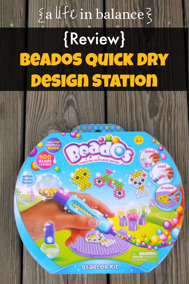 Girl Beados Toys : Review beados quick dry station for ages and up free