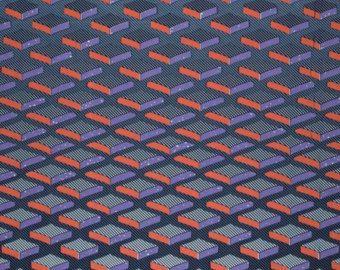 Vlisco Wax Hollandais - 2053 - Dutch Wax Block Print Fabric - African Wax Print Cotton