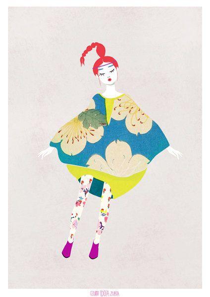 Les si belles illustrations d'Izumi Idoia