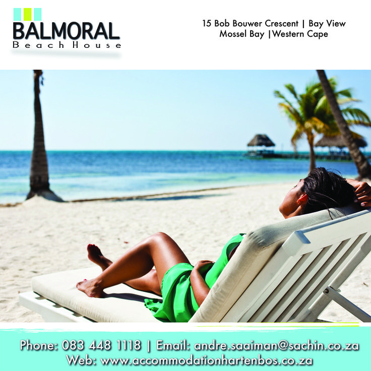Enjoy the sun on your skin and the taste of the ocean while staying with us. Call us at: 083 448 1118 E-Mail: andre.saaiman@sachin.co.za Click here to see more: besociable.link/z2 #accommodation #Hartenbos #BalmoralBeachHouse