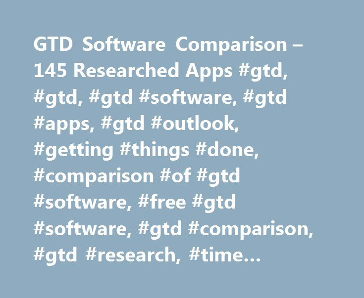 GTD Software Comparison – 145 Researched Apps #gtd, #gtd, #gtd #software, #gtd #apps, #gtd #outlook, #getting #things #done, #comparison #of #gtd #software, #free #gtd #software, #gtd #comparison, #gtd #research, #time #management #software http://columbus.remmont.com/gtd-software-comparison-145-researched-apps-gtd-gtd-gtd-software-gtd-apps-gtd-outlook-getting-things-done-comparison-of-gtd-software-free-gtd-software-gtd-comparison-gt/  # Custom, GTD-principle-based training for your PDA…