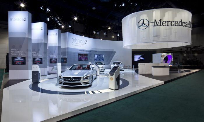 Marketing Exhibition Stand Examples : Mercedes benz ces exhibit by joe tedesco at coroflot
