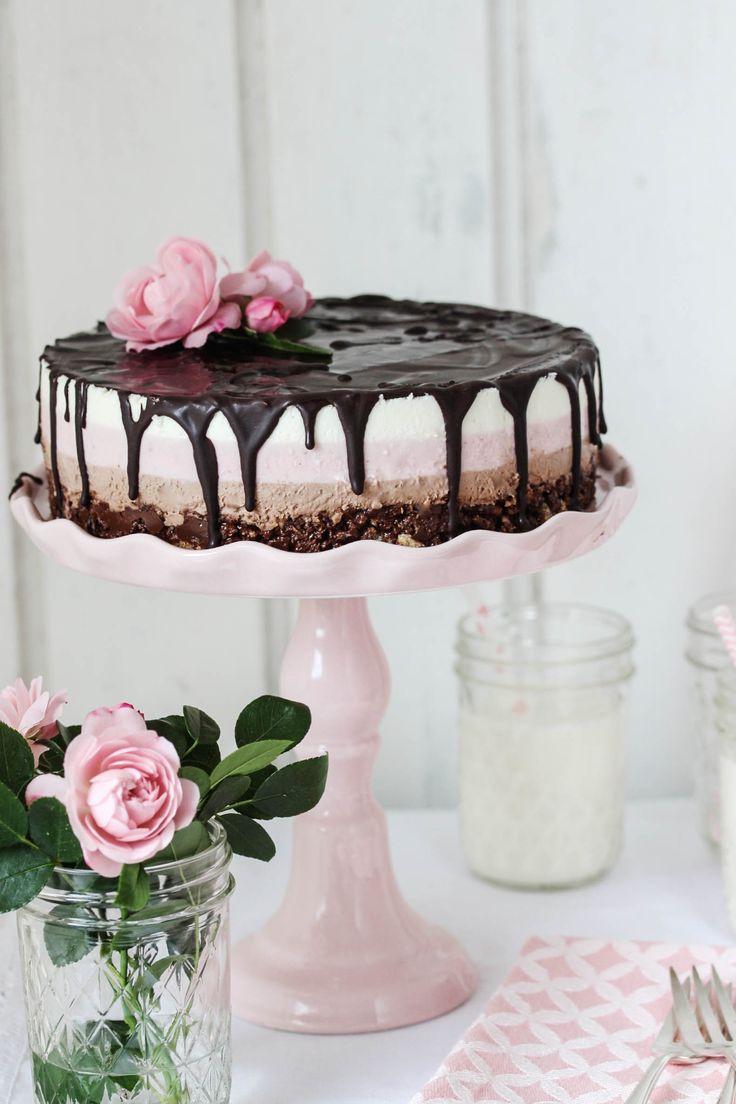 Nutella-Erdbeer-Törtchen  #nutella #erdbeeren #törtchen #torte #strawberry #cake