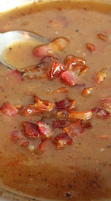 Hot Bacon Dressing (perfect for a spinach salad)