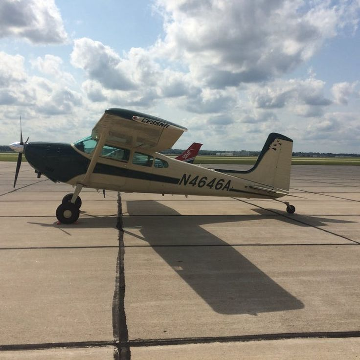 John MacD on DRIVETRIBE: #spotted a nice Cessna 180 taildragger at the airport. #cessna #airplane #ist | DRIVETRIBE