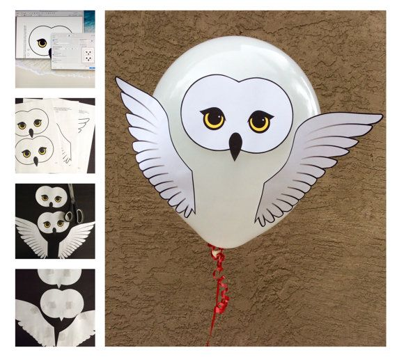 DIY Harry Potter Style Owl Baby Shower or Party by CreaseAndCut