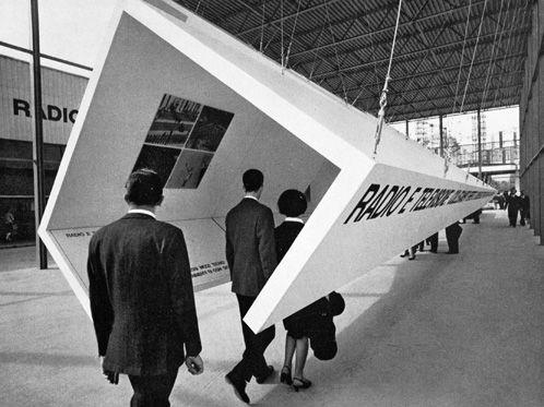 Castiglioni / Mari - RAI, Fiera Campionaria di Milano, 1965