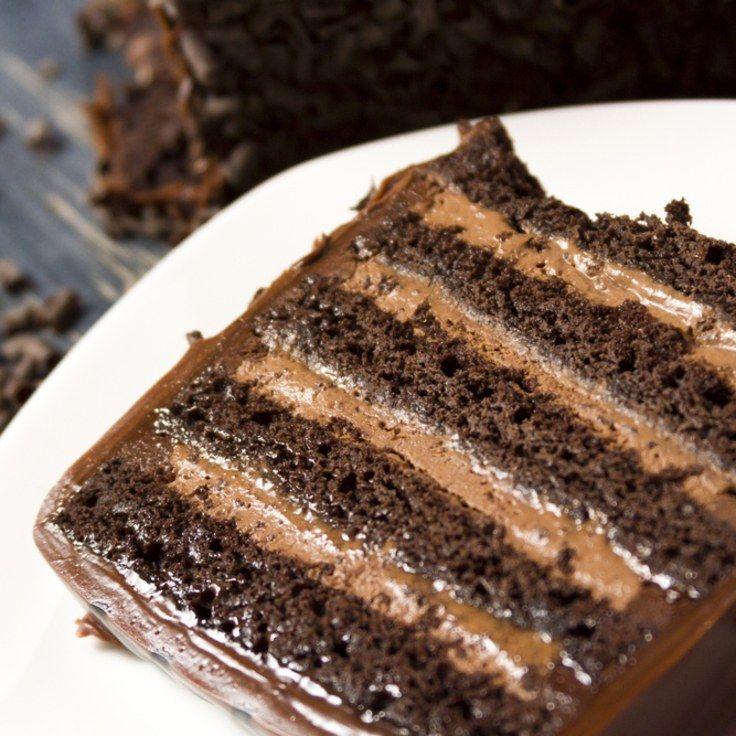 Epicurious Chocolate Stout Layer Cake