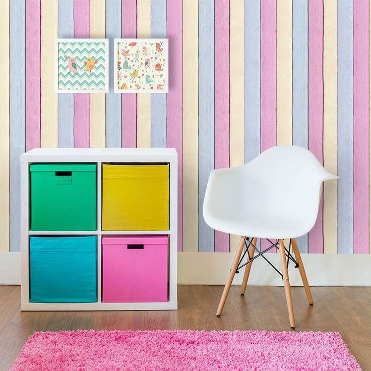 1000 ideias sobre parede de ripas no pinterest parede for Sala de estar infantil