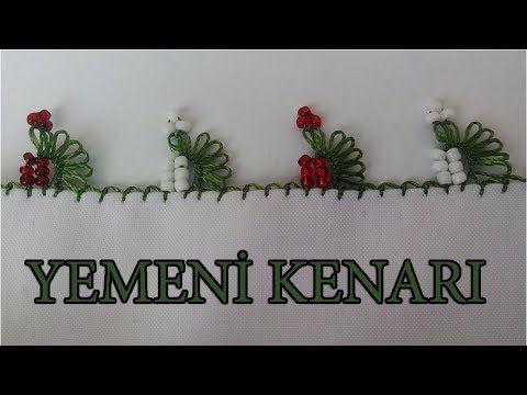 EV HANIMI # İğne Oyası: Yemeni Kenarı #94 - YouTube