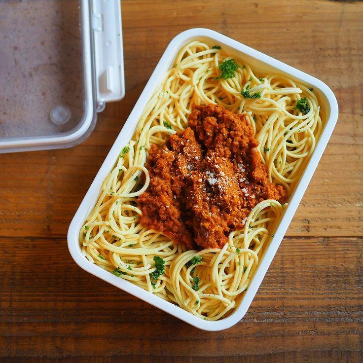 電子レンジがあればいつでも美味しく食べれる「冷凍パスタ」は置き弁にもお弁当にもピッタリです。