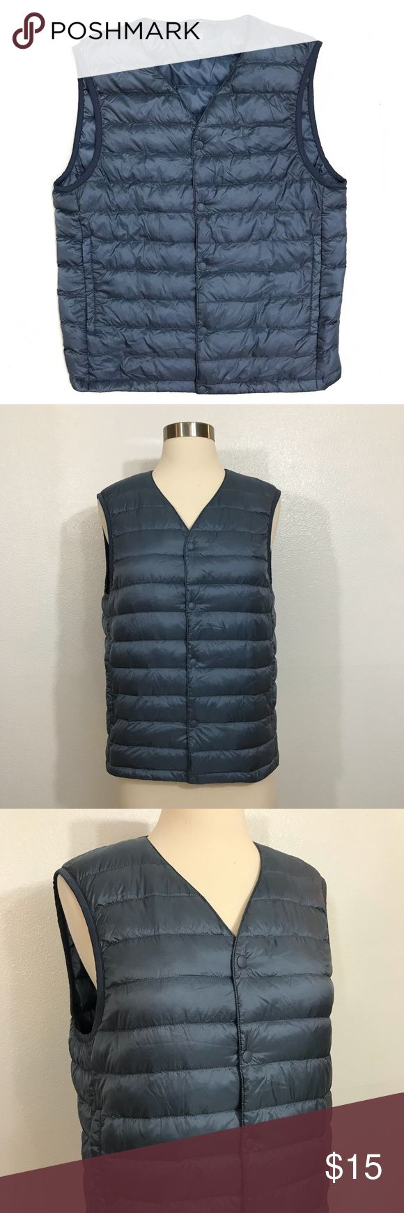 Uniqlo Ultra Light Down Puffer Vest Vest, Uniqlo jackets