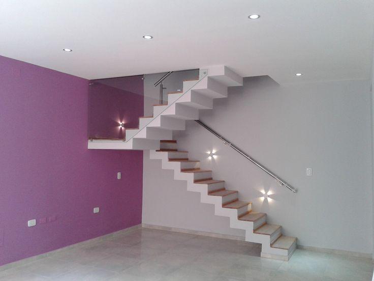 M s de 25 ideas incre bles sobre escalera moderna en - Escaleras modernas interiores ...