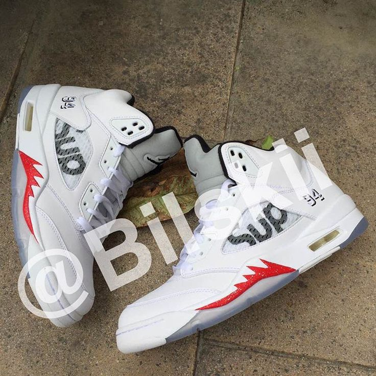 Air Jordan 5 Supreme White (2)