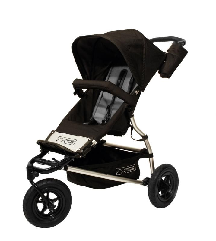 Mountain Buggy Swift all terrain pushchair in flint