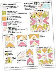 amazing quilt block tutorial by @Ashley Yoon Zombie