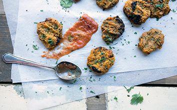 Lunch Lovin': Sweet Potato Fritters Recipe